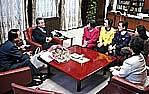 知事と女性局との懇談会