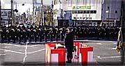 日立市新春消防出初め式