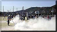 金沢学区防災訓練