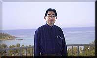 沖縄のホテルにて