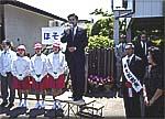 伊奈町議会議員選挙出陣式