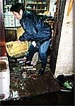 大沼町では床上まで浸水