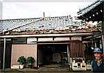 十王町伊師での竜巻の被害